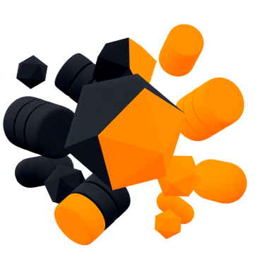 Orange and black image for the webinar page